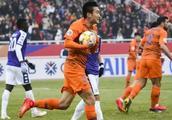 2019年亚冠资格赛:山东鲁能4:1河内FC,此人独造四球!