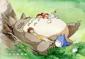 宫崎骏电影《龙猫》上映,教你画一只可爱的大龙猫!