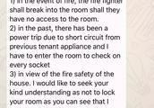 新加坡房东不让房客锁门,合理吗?