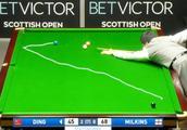 苏格兰公开赛,丁俊晖上演的极限逆转,解说话音未落就防守完了!