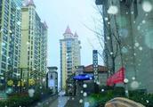运城市广厦金海湾——初雪入海湾,来年好丰收