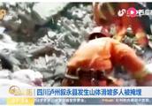 最新消息!四川泸州叙永山体滑坡,12人掩埋救出8人,救援仍在进行中