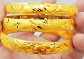如何分辨黄金手镯真假?含金量高不高?几个笨方法一试便知