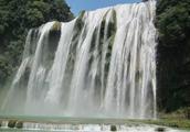 实拍贵州黄果树瀑布和天星桥景区