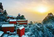 入冬的武当山美出新高度,比武侠片里的画面还有韵味!
