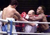 拳王泰森最霸气的一场比赛,打红了眼裁判和对手都被他放倒