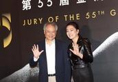 巩俐出席第55届金马奖记者会,霸气放话,有我在,公正就在!