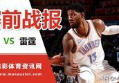 12月13日-NBA:鹈鹕vs雷霆,鹈鹕近况飘忽,雷霆誓要乘胜追击