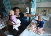 大连一岁双胞胎女婴同患白血病后续:孩子有救了!