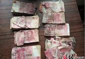 肉疼!三河村民六万现金存放家中发霉成碎纸!