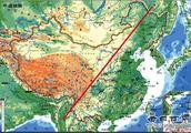 """神秘的""""胡焕庸线"""":一条线将中国划分为两个财富世界"""