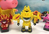 佩佩猪玩果宝特攻铠之魂菠萝帅帅哒变形玩具