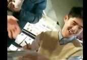 刘昊然批评逃课粉丝:不签了不签了……还逃课!