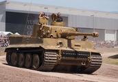 这台虎式造价不菲,英国为了俘虏它,赔了坦克又搭了坦克兵