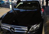 2019款奔驰E200L黑外棕内提车作业分享
