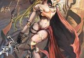 魔兽同人画作:苏醒的泰坦艾泽拉斯 指引战争的方向