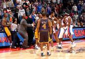 NBA历史5大打架事件:冤家保罗隆多大打出手,有人重拳被打出脑浆