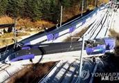 突发!韩国高铁发生严重脱轨(图集)至少14人受伤