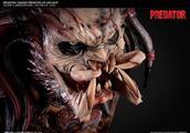 池田朗人概念设计版 KAGERO PREDATOR 影狼 铁血战士 1:1胸像