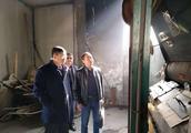 市质监局督查指导我县教育系统燃煤锅炉整治工作