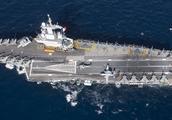 实力不差,最小核动力航空母舰,阵风M机翼不能折叠也能携带30架