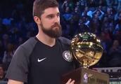 NBA全明星三分大赛史上最酷最低调冠军,但实力不允许他这么低调