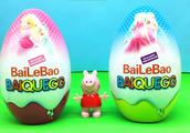 小猪佩奇玩佰乐堡巨大奇趣蛋 芭比公主玩具蛋