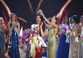 2018环球小姐冠军是欧阳娜娜师姐,打败93国的秘密武器是最会穿