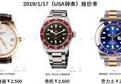 暗访香港抵扣的一批劳力士,浪琴腕表,成本才2000,这操作厉害!