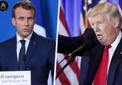 """马克龙自取其辱:特朗普被彻底激怒,翻脸猛烈""""炮轰""""法国"""