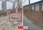 霸州康仙庄村民集体排水沟被私自填平