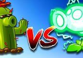 植物大战僵尸:满级仙人掌vs满级电能僵尸 谁的伤害更高?