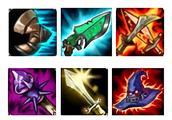 LOL:武器最强六神怎么出?这套装备伤害最高,杀完剑圣还是满血