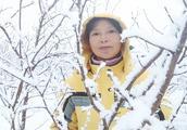 山东威海又下雪了,大榛子树变成了雪树银花,太好看了快来瞧瞧
