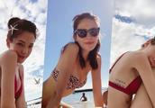夏威夷度假狂发美照,许玮宁透露按摩才有好身材