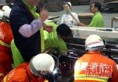 漳州一纸箱厂员工操作不慎 手臂被卷进机器滚轮