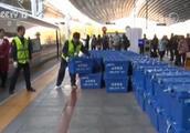 复兴号首开快递车厢:比以往高铁快运专柜多装10倍