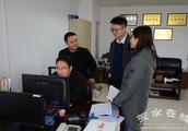 市政府办公室检查指导市质监局电子政务系统运行情况