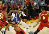 篮球——NBA常规赛:勇士战胜老鹰