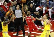 篮球——NBA常规赛:火箭胜勇士