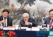 基辛格访问北京大学并与学生座谈
