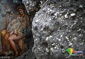 意大利庞贝古城发现罕见壁画 描绘古希腊神话场景