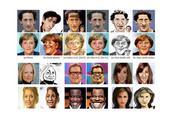 AI技术新应用 可自动生成肖像漫画