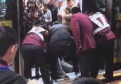 男子因争执小腿被卡地铁站台缝隙 致1号线早高峰晚点7分钟