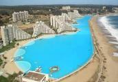 面积相差8000倍的两个游泳池,最小的不足10平米