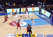四人得分上双!世预赛中国男篮72-52大胜黎巴嫩