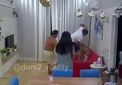 俄真人秀选手节目中暴打女友 只因其与异性拥抱