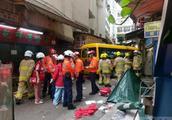 香港北角严重车祸现场高清大图 无人驾驶保姆车冲撞死伤多人
