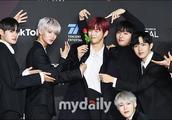 「MD PHOTO」WANNA ONE出席MAMA韩国颁奖礼红地毯活动