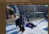 章若楠否认与费启鸣恋爱 晒雪地照回应网友关心